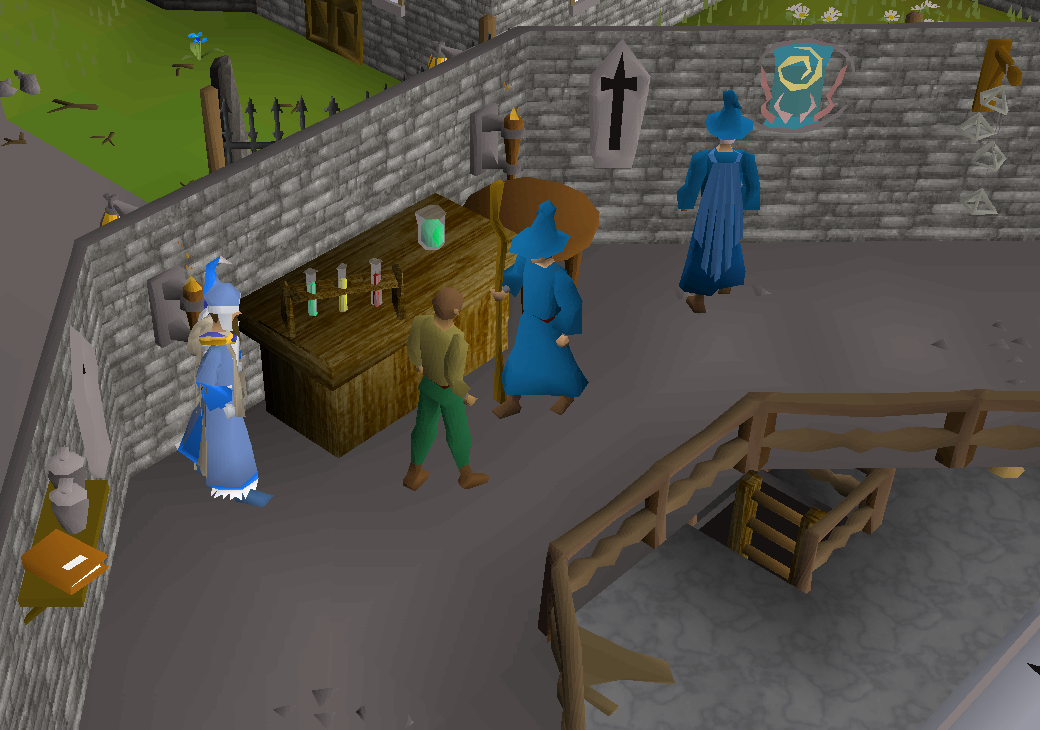 Magic Guild Store (Runes and Staves) | Old School RuneScape Wiki