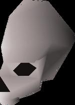 Right skull half detail