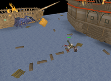 Dragon Slayer II - crossing shipwrecks