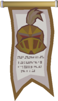 Earth Warrior Champion's banner