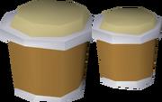 Penguin bongos detail