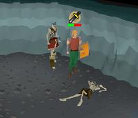 Skeleton rummage