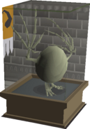 Wyvern Egg display