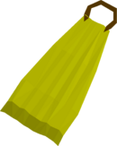 Yellow cape detail