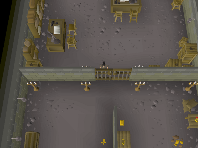 File:Cryptic clue - dig west varrock bank basement.png