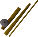 Fishing rod detail