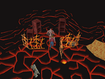 Emote clue - cry tzhaar gem shop