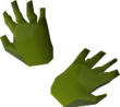 Zombie gloves detail