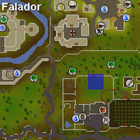 Hot cold clue - north of farming shop map