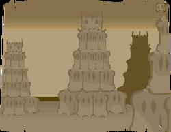 Looking-at castle sketch 3