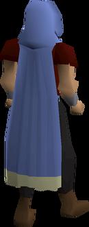 Castlewars cloak (Saradomin) equipped