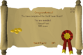 Clock Tower reward scroll.png