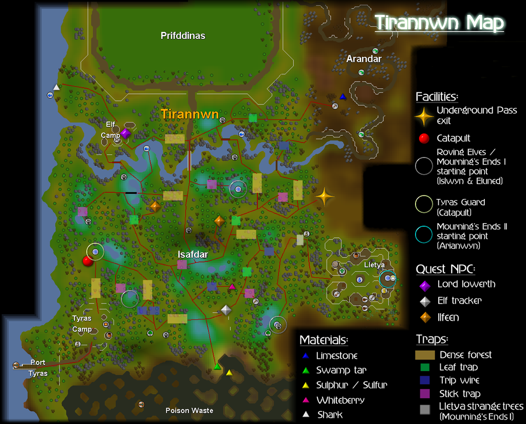 Image - Isafdar map.png | Old School RuneScape Wiki | FANDOM powered ...