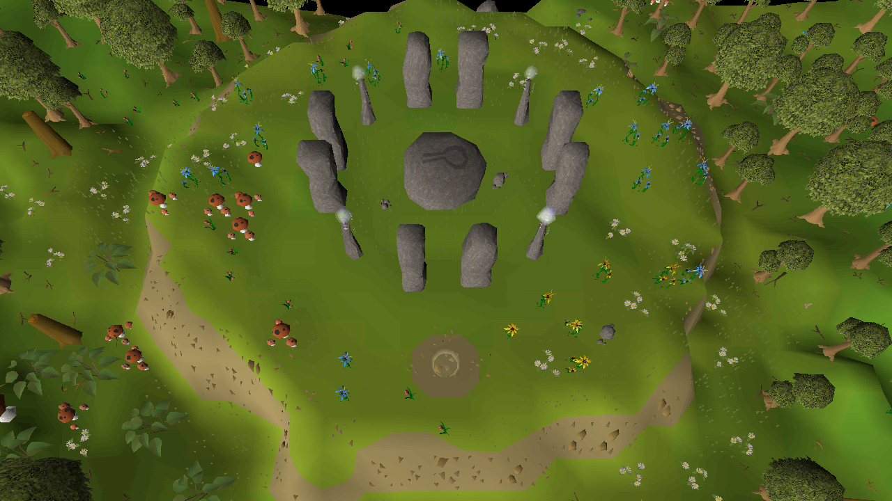 Crafting nature runes through the Abyss   Old School