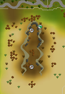 Al Kharid mine map