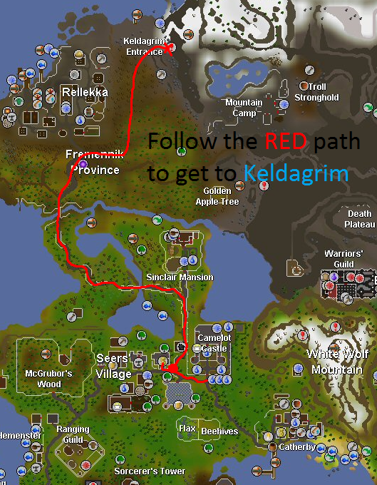 Image - Getting to Keldagrim.png | Old School RuneScape Wiki ...