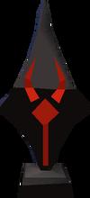Mysterious emblem detail
