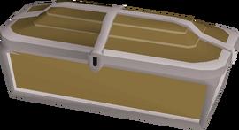 Teak treasure chest built