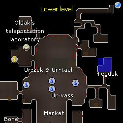 Tegdak location