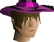 Dark infinity hat chathead