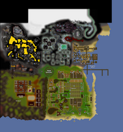 Great Kourend old map