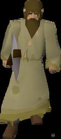 Male slave (brown hair)