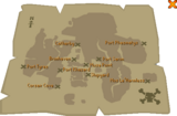 Trade charter map