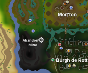 Abandoned Mine Shortcut