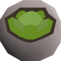 Cabbage rune detail