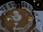 Emote clue - bow lighthouse