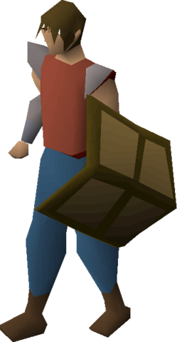 File:Wooden shield (Weapons rack) equipped.png