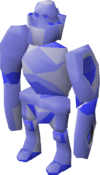 Rock golem (blurite) pet