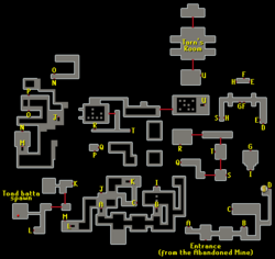 Tarn's Lair map