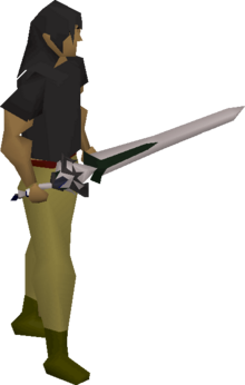 3rd age longsword equipped