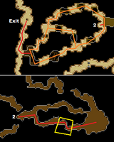 Maniacal Monkey Training Spot Map