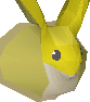Baby chinchompa (gold) chathead
