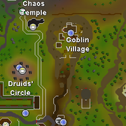 Chaos Temple (Asgarnia) map