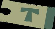 Minecart ticket (White Wolf Mountain to Keldagrim) detail