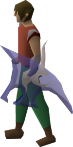 Spectral spirit shield equipped