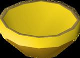 Gold bowl detail