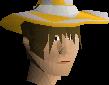 Light infinity hat chathead