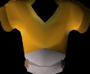 Orange goblin mail detail