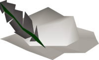White cavalier detail