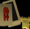 Dragon legs+skirt ornament kit detail