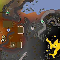 Fossil Island mine map