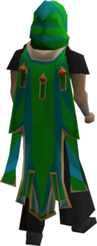 Guthix max cape equipped