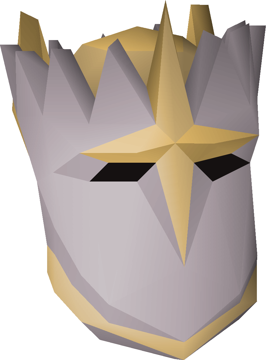 Justiciar Faceguard Old School Runescape Wiki Fandom Powered By Helm Monk A That Once Belonged To Loyal Zealot Of Saradomin