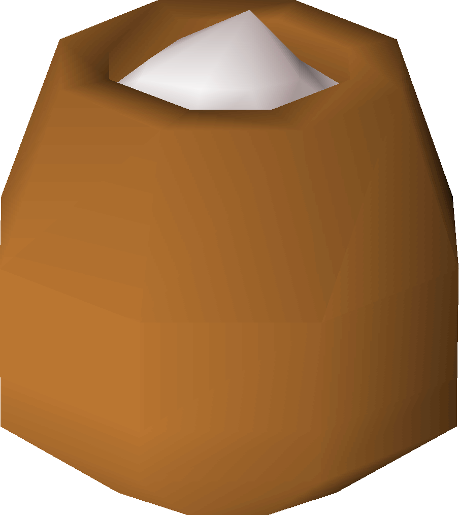 Pot of flour | Old School RuneScape Wiki | FANDOM powered by Wikia