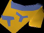 Tribal top (yellow) detail
