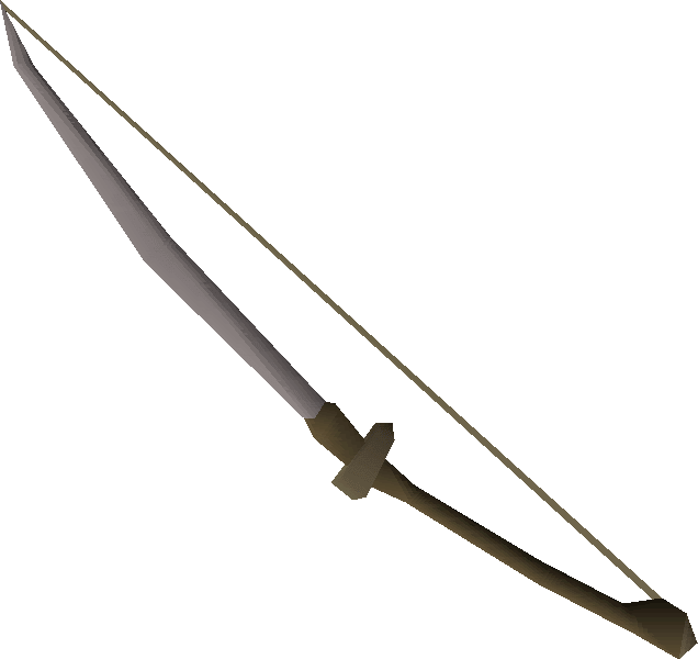 bow sword old school runescape wiki fandom powered by wikia
